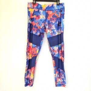 Adidas Leggings Watercolor Mesh XL NWT